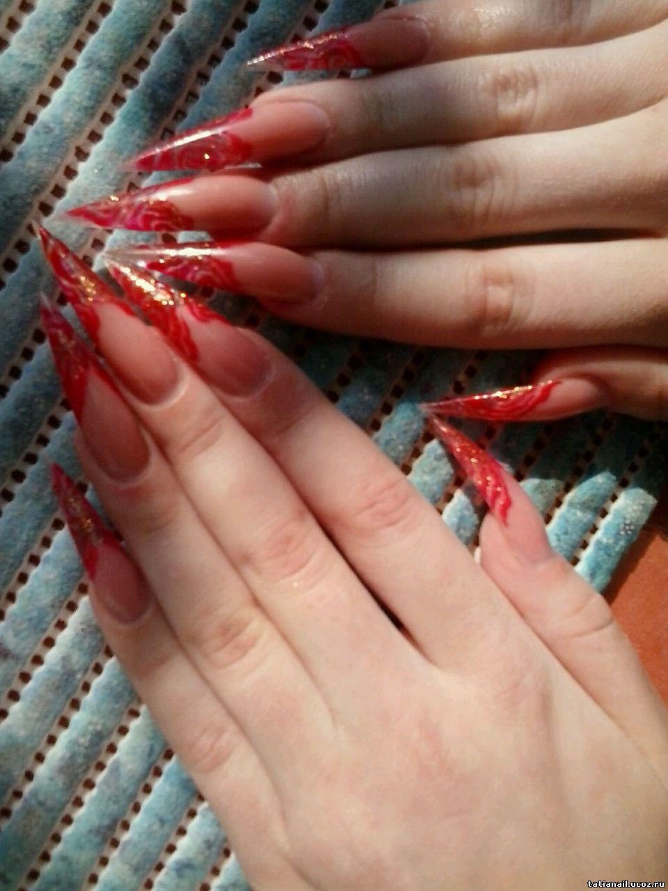 Наращиванье ногтей по всему миру фото